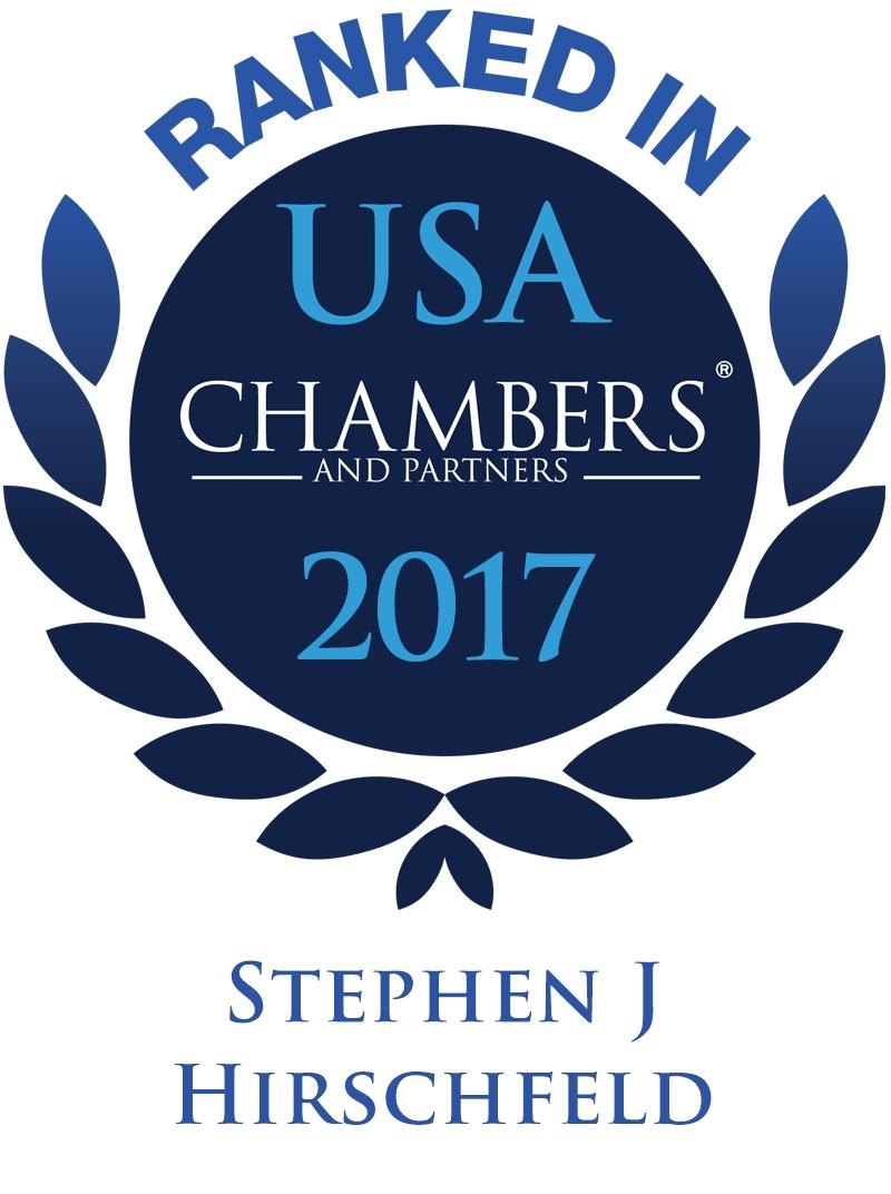 Stephen Hirschfeld Chambers USA 2017