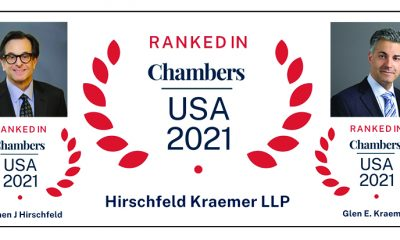 Chambers 2021 badges