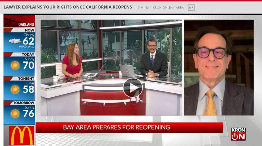 Steve Hirschfeld on KRON-4TV